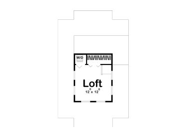 2nd Floor Plan, 050H-0139