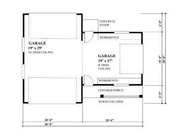 Unique garage plans unique 3 car drive thru garage plan for House plans with drive through garage