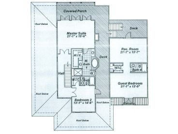 2nd Floor Plan, 041H-0109