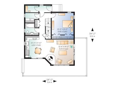 1st Floor Plan, 027H-0362