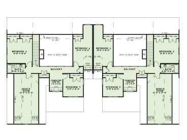 Townhouse plans two story townhouse plan 025m 0080 at for 2 story townhouse plans
