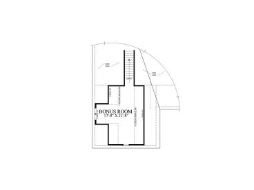 2nd Floor Plan, 063H-0226