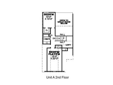 2nd Floor Plan A