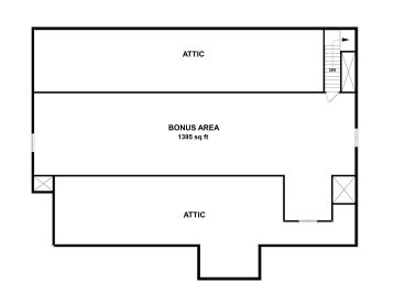 2nd Floor Plan, 007H-0150