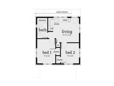 2nd Floor Plan, 052G-0011