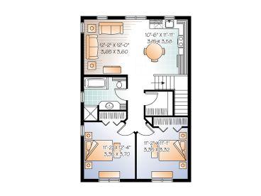 2nd Floor Plan 027g 0008