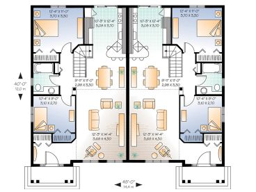 Plan 027m 0003 find unique house plans home plans and for Income property floor plans