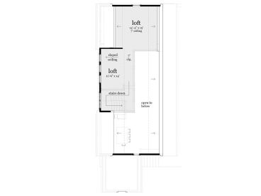 2nd Floor Plan, 052H-0087