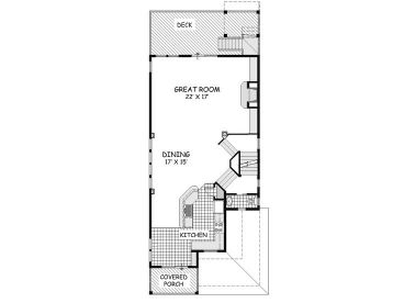 2nd Floor Plan, 041H-0138