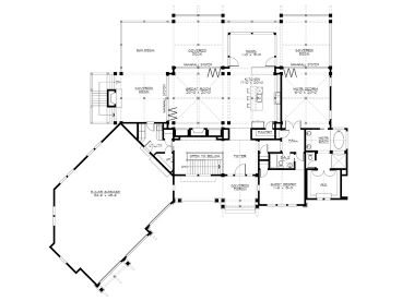 1st Floor Plan, 035H-0111