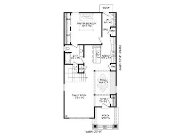Affordable home plans 3 bedroom 2 bath affordable house for Affordable 5 bedroom house plans