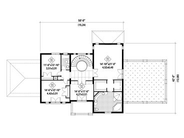 2nd Floor Plan, 072H-0224