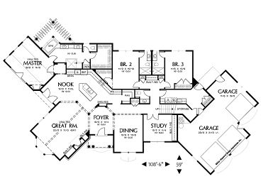 Plan 034h 0199 find unique house plans home plans and for Unusual floor plans