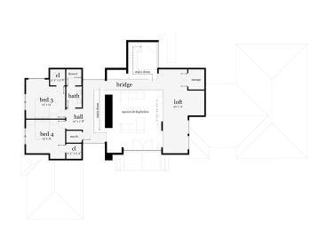 2nd Floor Plan, 052H-0091