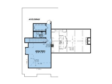 2nd Floor Plan, 074H-0137