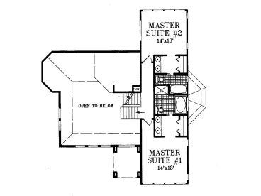 2nd Floor Plan, 041H-0016