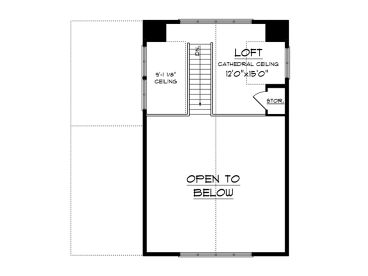 2nd Floor Plan, 020H-0477