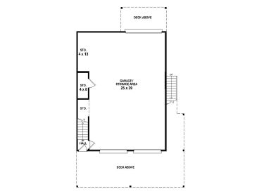 1st Floor Plan, 006G-0150