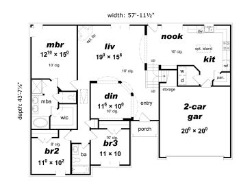 061h 0157 besides 050h 0117 additionally Craftsman Ranch besides Quality Details Inside And Out in addition 061h 0072. on walk out house plans 3 bedroom ranch
