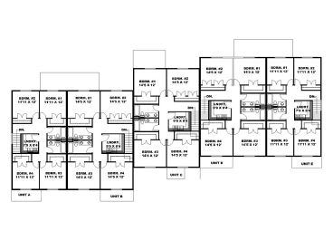 2nd Floor Plan, 012M-0008