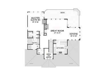 2nd Floor Plan, 041H-0129