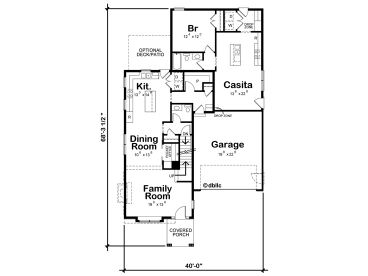 1st Floor Plan, 031H-0359