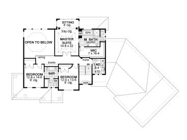 2nd Floor Plan, 023H-0179