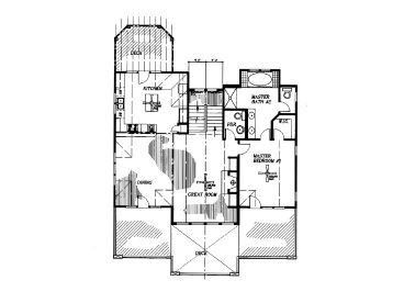 2nd Floor Plan, 041H-0057