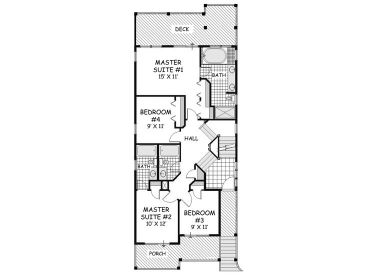 1st Floor Plan, 041H-0138