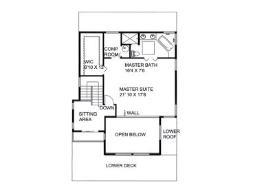 2nd Floor Plan, 012H-0227
