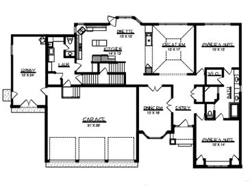 Country Cape Cod House Plans. Country. Home Plan And House Design ...