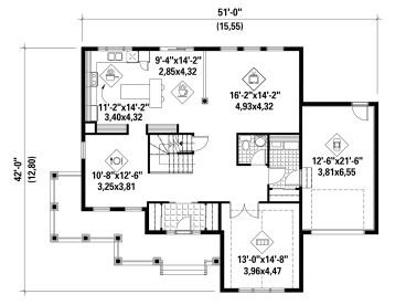 1st Floor Plan, 072H-0158