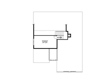 2nd Floor Plan, 031H-0327