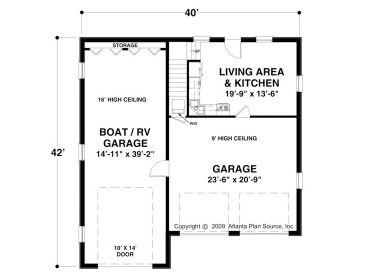Rv Garage Plan Rv Garage With Carriage House Design