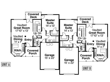 1st Floor Plan, 051M-0009
