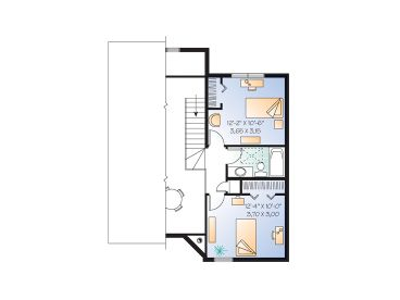 2nd Floor Plan, 027H-0362