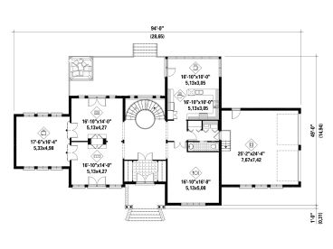 1st Floor Plan, 072H-0224