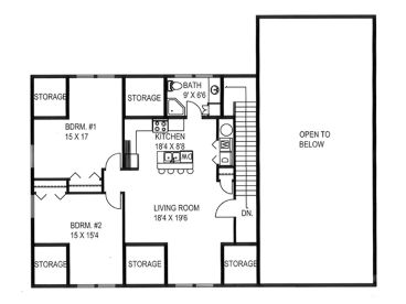 2nd Floor Plan, 012G-0128