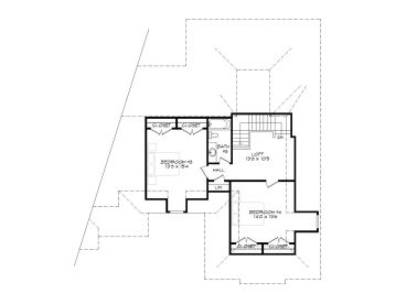 2nd Floor Plan, 062H-0015