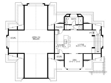 RV Garage Plans | RV Garage Plan with Second Floor Apartment ...