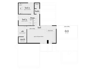 2nd Floor Plan, 052H-0079