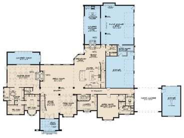 1st Floor Plan, 075H-0018