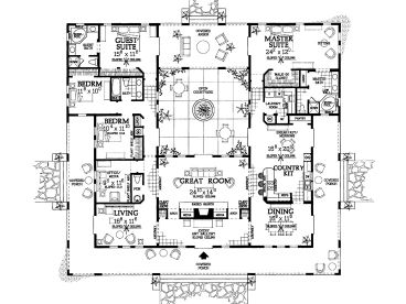 Plan H    Find Unique House Plans  Home Plans and Floor    Floor Plan