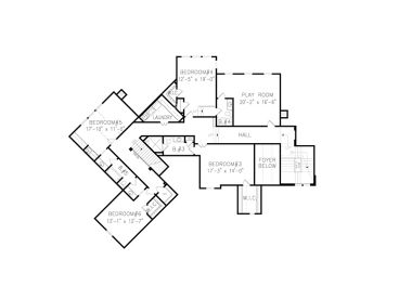 2nd Floor Plan, 084H-0001