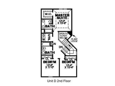 2nd Floor Plan D