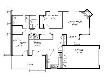 2nd Floor Plan B