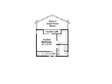 2nd Floor Plan, 051L-0009