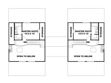 2nd Floor Plan, 012M-0006