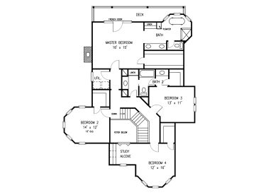 floor plan for my house plan 054h 0130 find unique house plans home plans and floor plans at thehouseplanshop com 1978
