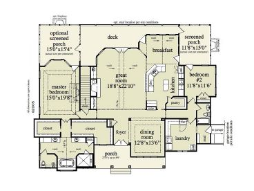 House Main Floor Plan